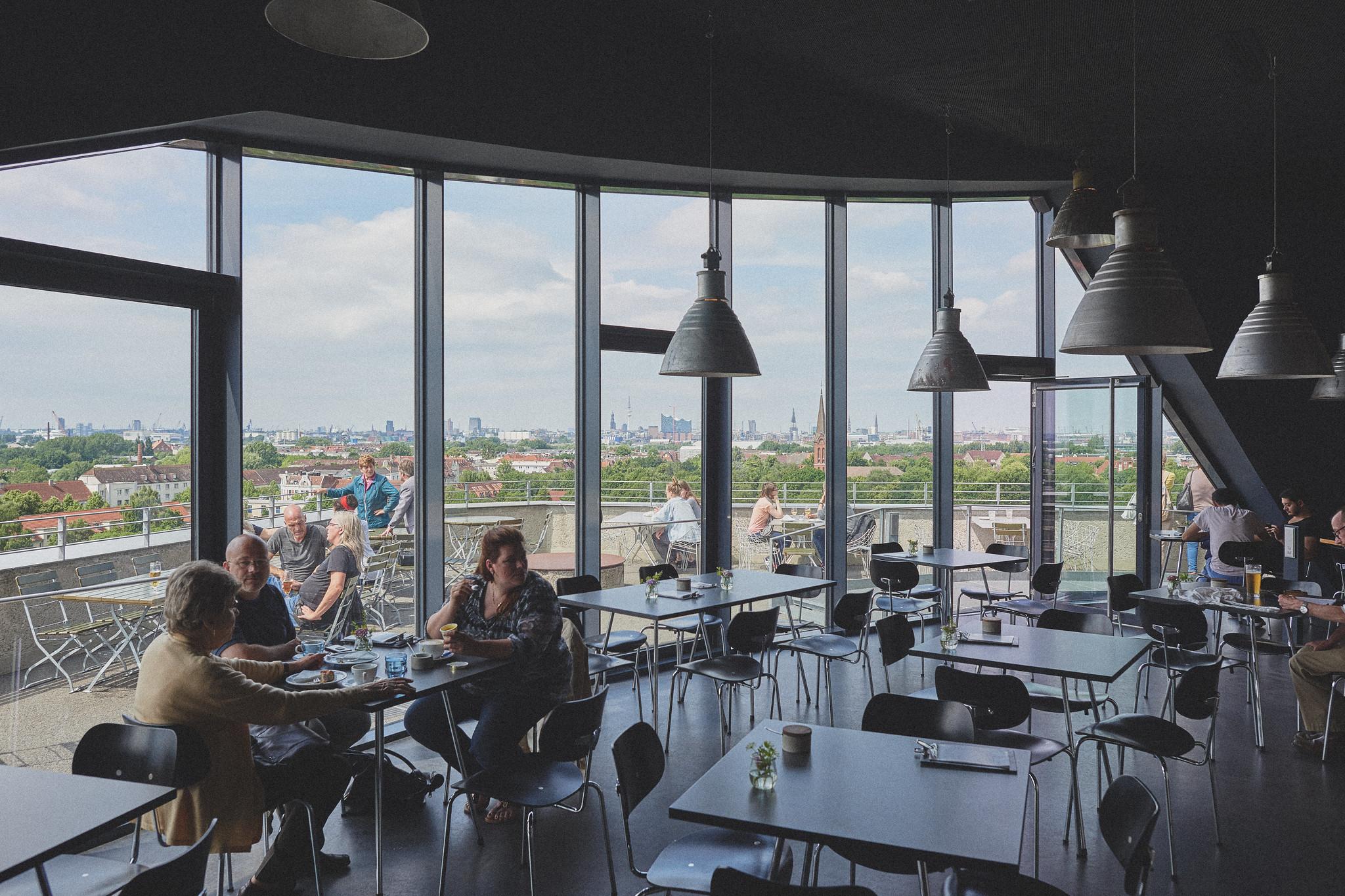 Uitkijkpunten in Hamburg, Energiebunker | foto door williwieberg